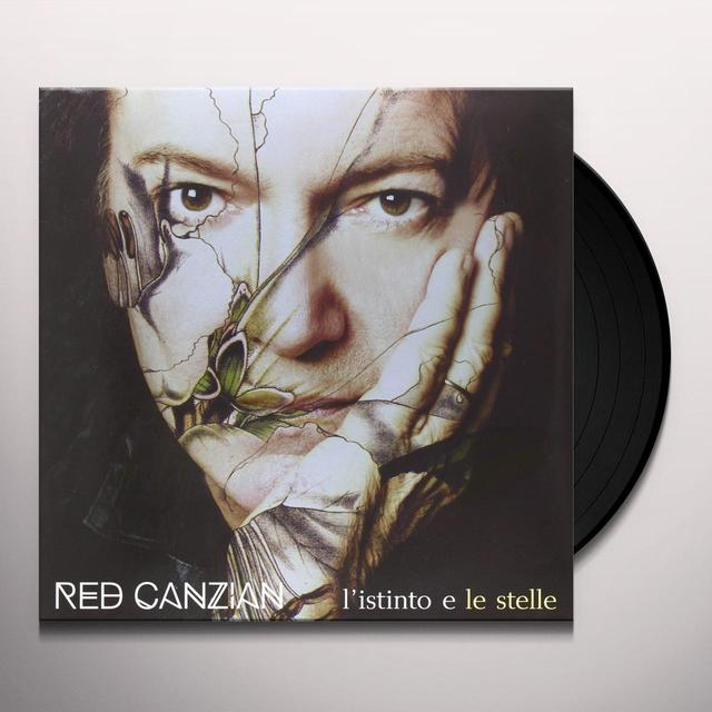 CANZIAN RED L'ISTINTO E LE STELLE Vinyl Record - Italy Import