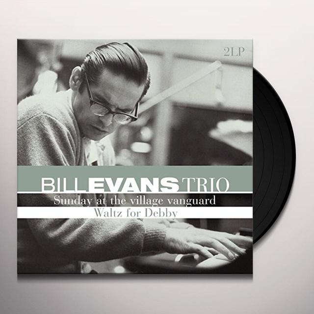 Bill Evans Trio SUNDAY AT THE VILLAGE VANGUARD / WALTZ FOR DEBBY Vinyl Record