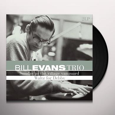 Bill Evans Trio SUNDAY AT THE VILLAGE VANGUARD / WALTZ FOR DEBBY Vinyl Record