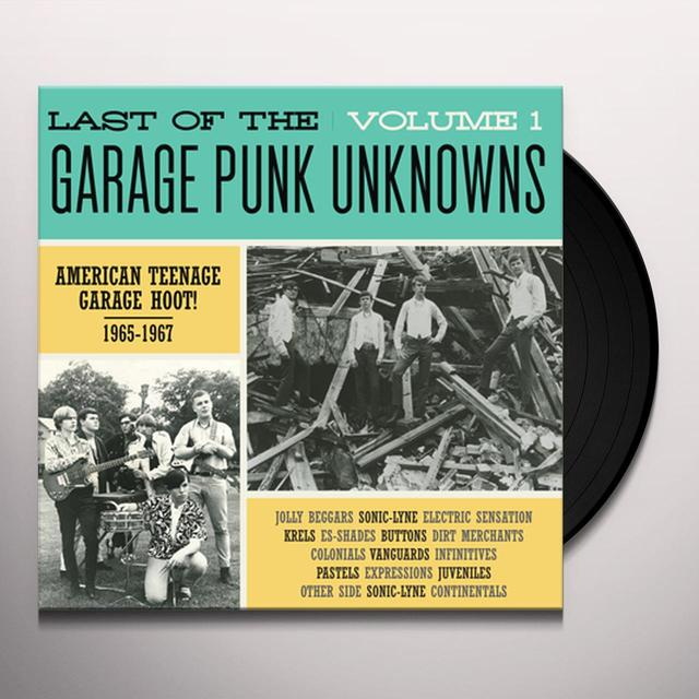LAST OF THE GARAGE PUNK UNKNOWNS 1 / VARIOUS Vinyl Record