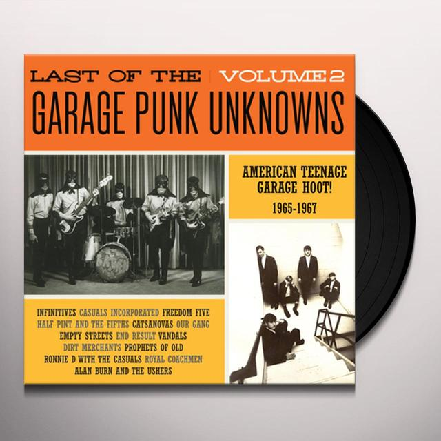 LAST OF THE GARAGE PUNK UNKNOWNS 2 / VARIOUS Vinyl Record
