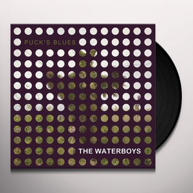 The Waterboys PUCK'S BLUES Vinyl Record - 10 Inch Single