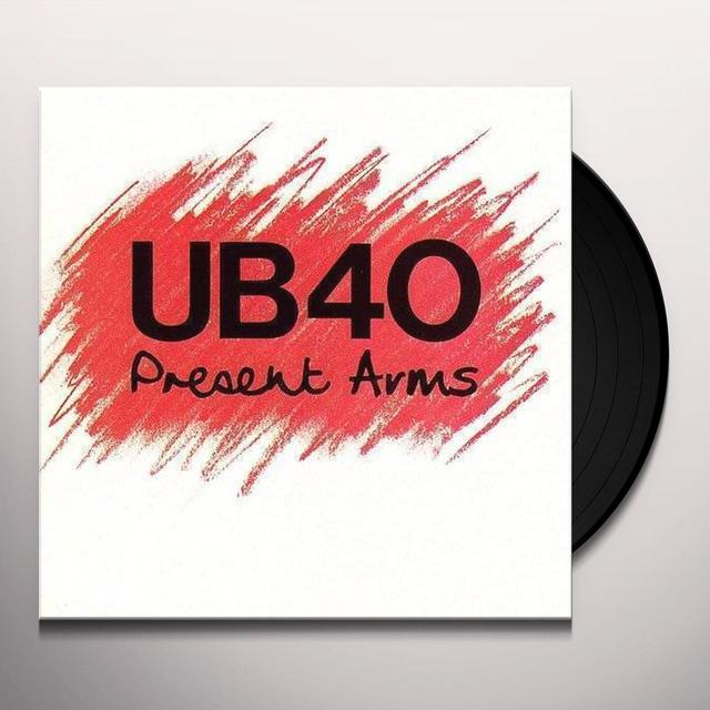 Ub40 PRESENT ARMS Vinyl Record - Deluxe Edition