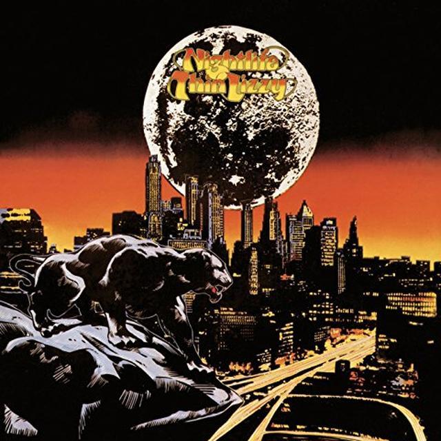 Thin Lizzy NIGHTLIFE Vinyl Record