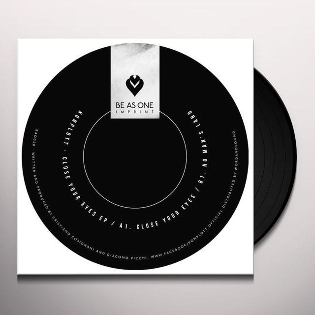 Konplott CLOSE YOUR EYES Vinyl Record