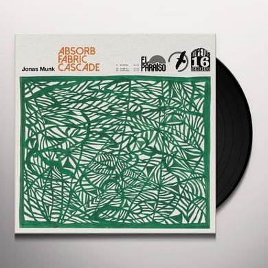 Jonas Munk ABSORB / FABRIC / CASCADE Vinyl Record