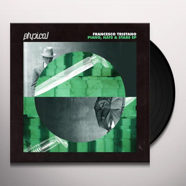 Francesco Tristano PIANO HATS & STABS (EP) Vinyl Record