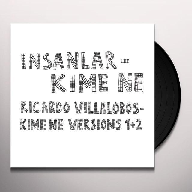 Insanlar / Ricardo Villalobos KIME NE Vinyl Record