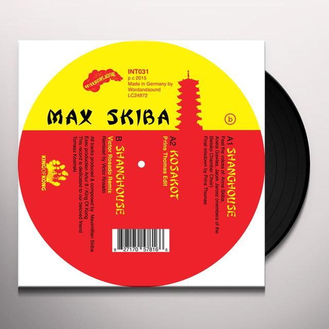 Max Skiba SHANGHOUSE (EP) Vinyl Record