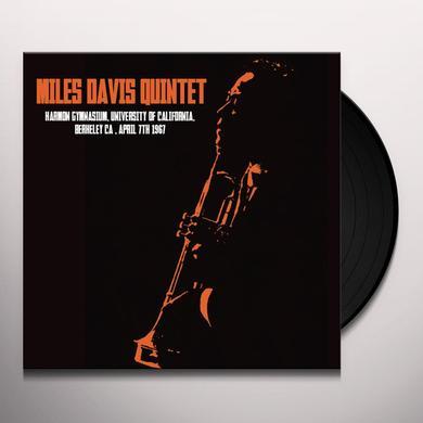 Miles Davis HARMON GYMNASIUM UNIVERSITY OF CALIFORNIA BERKELEY Vinyl Record