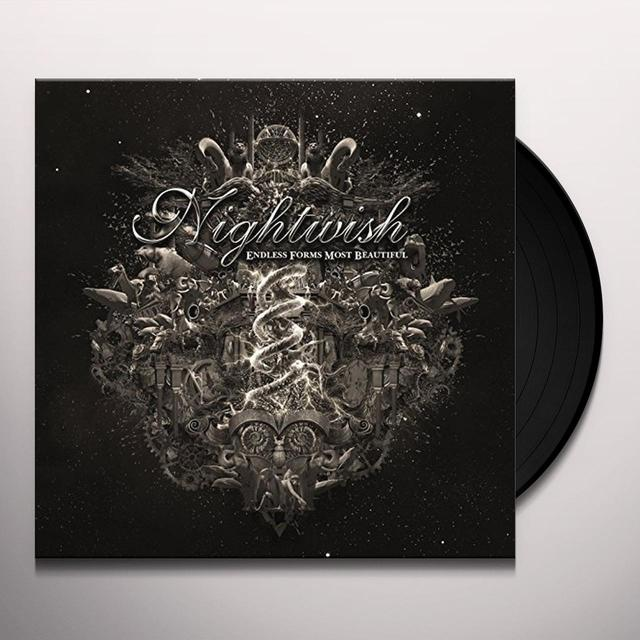 Nightwish ENDLESS FORMS MOST BEAUTIFUL Vinyl Record