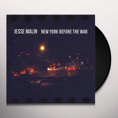 Jesse Malin NEW YORK BEFORE THE WAR Vinyl Record