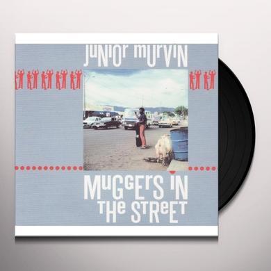 Junior Murvin MUGGERS IN THE STREET Vinyl Record