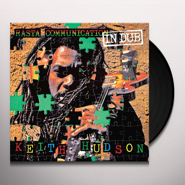 Keith Hudson RASTA COMMUNICATION IN DUB Vinyl Record