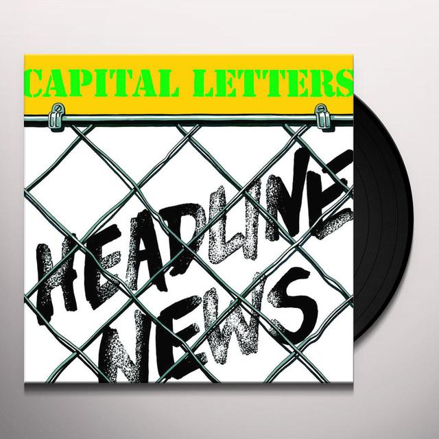 Capital Letters HEADLINE NEWS Vinyl Record