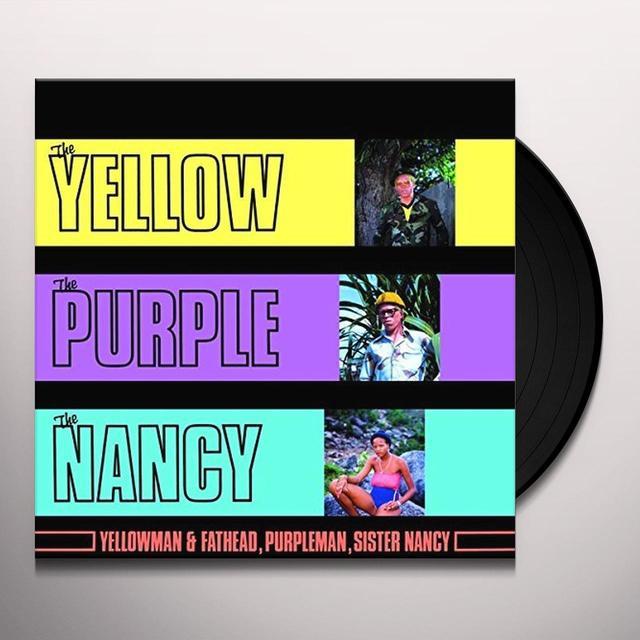 YELLOWMAN / FATHEAD / PURPLE YELLOW THE PURPLE & THE NANCY Vinyl Record