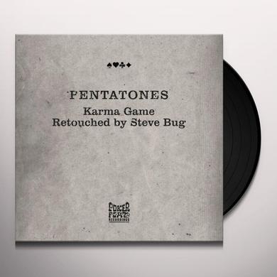 Pentatones KARMA GAME RETOUCHED BY STEVE BUG Vinyl Record
