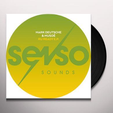 Mark Deutsche & Musoé R U READY (EP) Vinyl Record