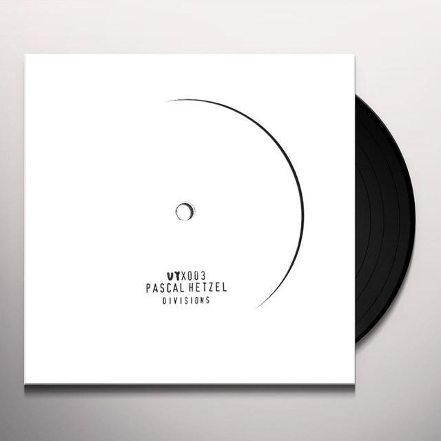 Pascal Hetzel DIVISIONS (INCL. TUFF CITY KIDS REMIX) Vinyl Record