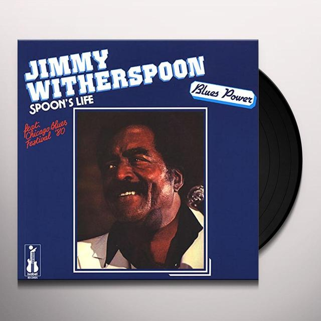 Jimmy Witherspoon SPOON'S LIFE Vinyl Record - 180 Gram Pressing