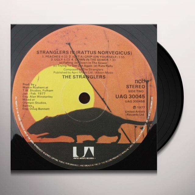 The Stranglers RATTUS NORVEGICUS Vinyl Record - UK Release