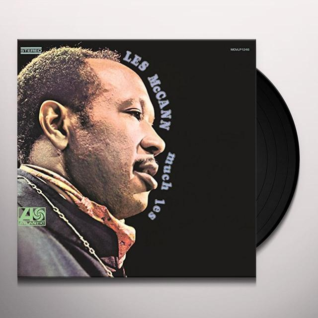 Les Mccann MUCH LESS Vinyl Record - Holland Import
