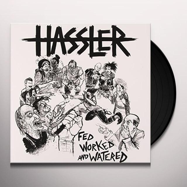 HASSLER FED WORKED & WATERED Vinyl Record - UK Import
