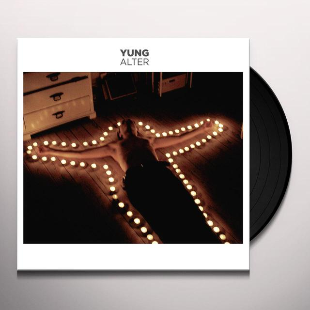 Yung ALTER  (EP) Vinyl Record - UK Release
