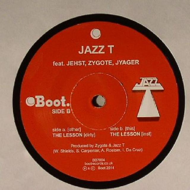 JAZZ T LESSON Vinyl Record - UK Release