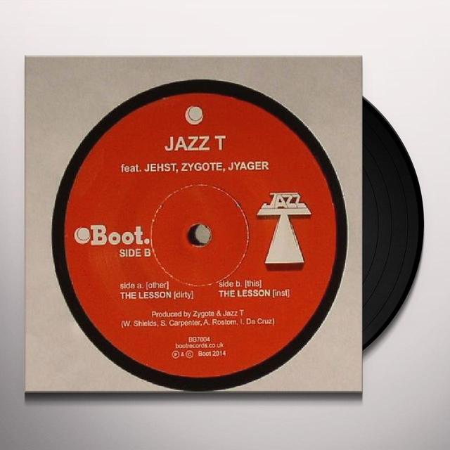 JAZZ T LESSON Vinyl Record - UK Release