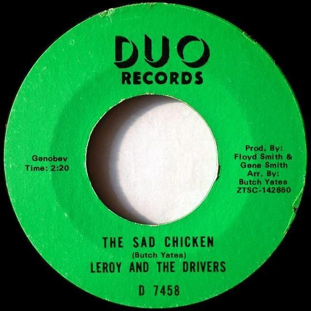 Leroy & The Drivers RAINY NIGHT IN GEORGIA Vinyl Record