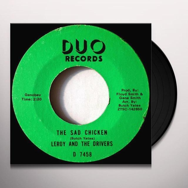 Leroy & The Drivers RAINY NIGHT IN GEORGIA Vinyl Record - UK Import