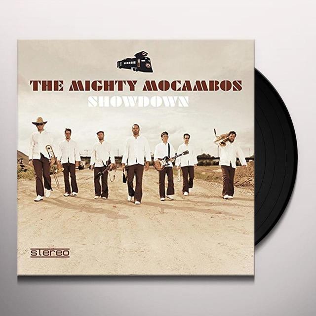 The Mighty Mocambos SHOWDOWN Vinyl Record - UK Import