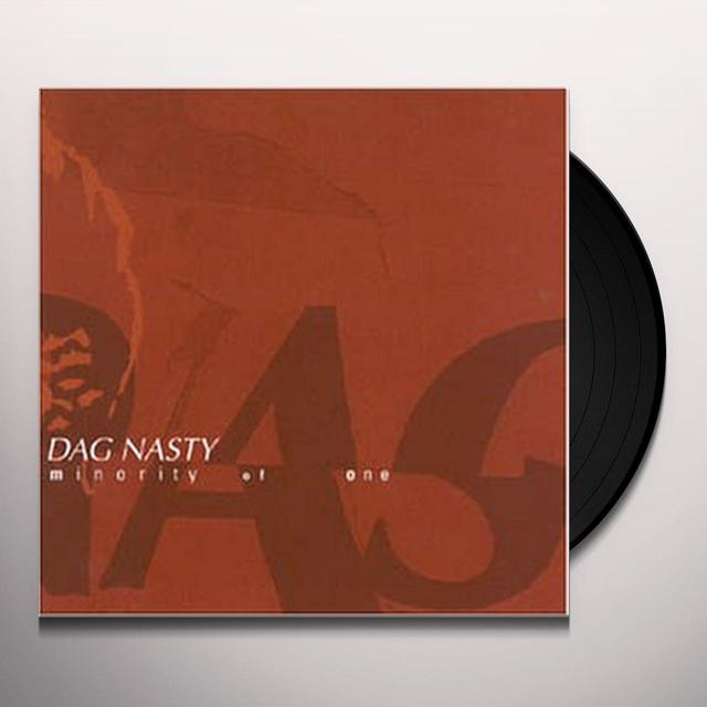 DAGNASTY MINORITY OF ONE (TRANSLUCENT GREEN VINYL) Vinyl Record - UK Import