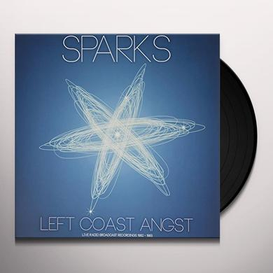 Sparks LEFT COAST ANGST Vinyl Record