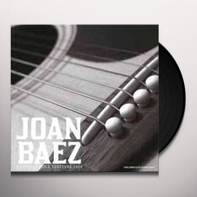 Joan Baez NEWPORT FOLK FESTIVAL 1968 Vinyl Record - UK Import