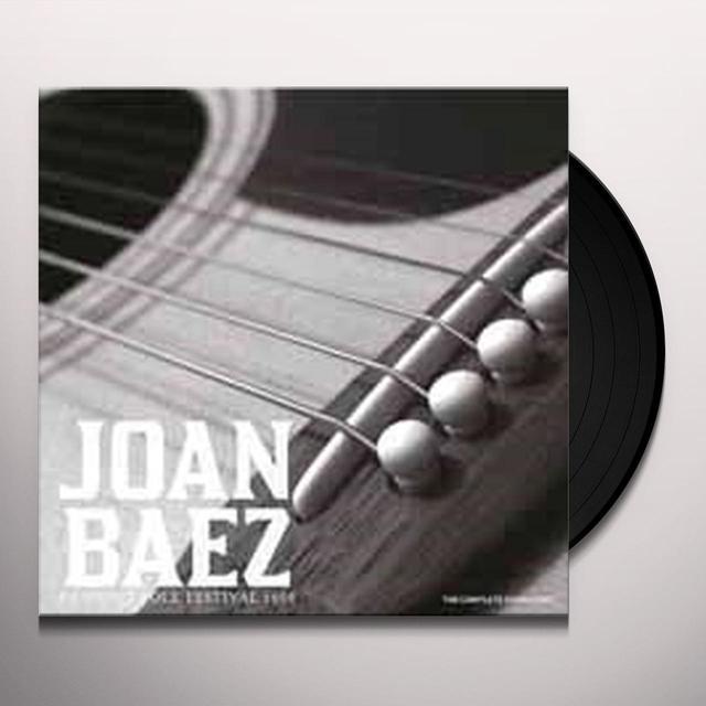 Joan Baez NEWPORT FOLK FESTIVAL 1968 Vinyl Record - UK Import