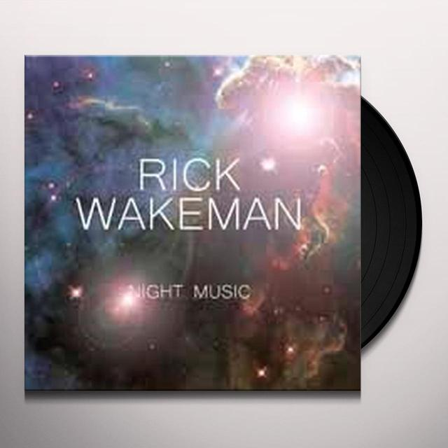 Rick Wakeman NIGHT MUSIC Vinyl Record - UK Import