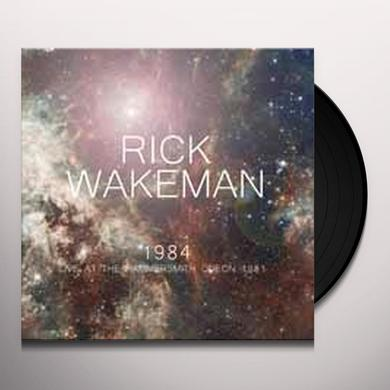 Rick Wakeman 1984-LIVE AT THE HAMMERSMITH ODEON 1981 Vinyl Record - UK Import