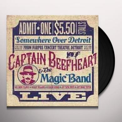 Captain Beefheart SOMEWHERE OVER DETROIT: LIVE FROM HARPO'S Vinyl Record - UK Import