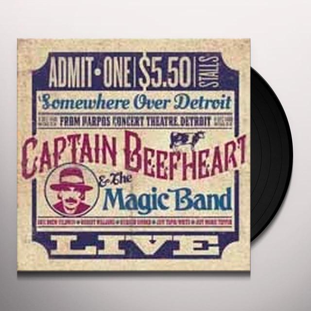 Captain Beefheart SOMEWHERE OVER DETROIT: LIVE FROM HARPO'S Vinyl Record - UK Import