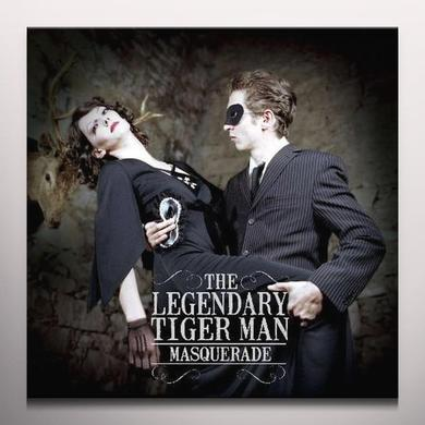 The Legendary Tigerman MASQUERADE (CLEAR VINYL) Vinyl Record - Colored Vinyl, UK Import