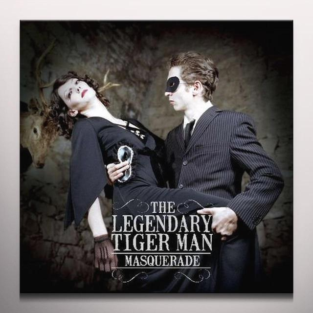 The Legendary Tigerman MASQUERADE (CLEAR VINYL) Vinyl Record - Colored Vinyl, UK Release