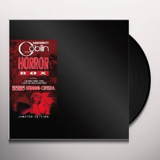 HORROR BOX / O.S.T. (ITA) HORROR BOX / O.S.T. Vinyl Record - Italy Release