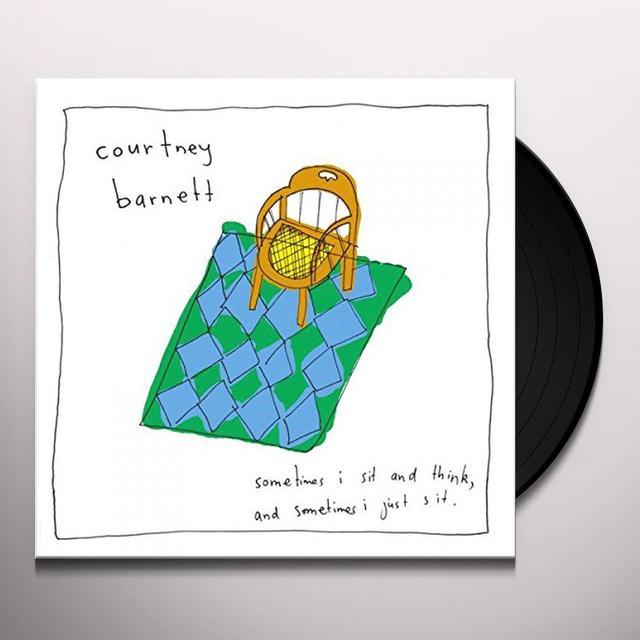 Courtney Barnett SOMETIMES I SIT & THINK & SOMETIMES I JUST SIT Vinyl Record