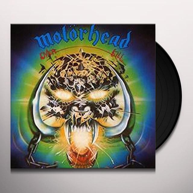 Motorhead OVERKILL Vinyl Record - UK Release