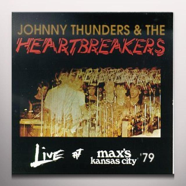 Heartbreakers LIVE AT MAX'S KANSAS CITY VOLUME 1 & 2 Vinyl Record - Colored Vinyl