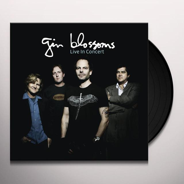 Gin Blossoms LIVE IN CONCERT Vinyl Record