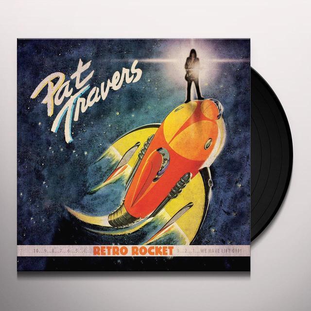 Pat Travers RETRO ROCKET Vinyl Record