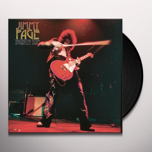 Jimmy Page BURN UP Vinyl Record